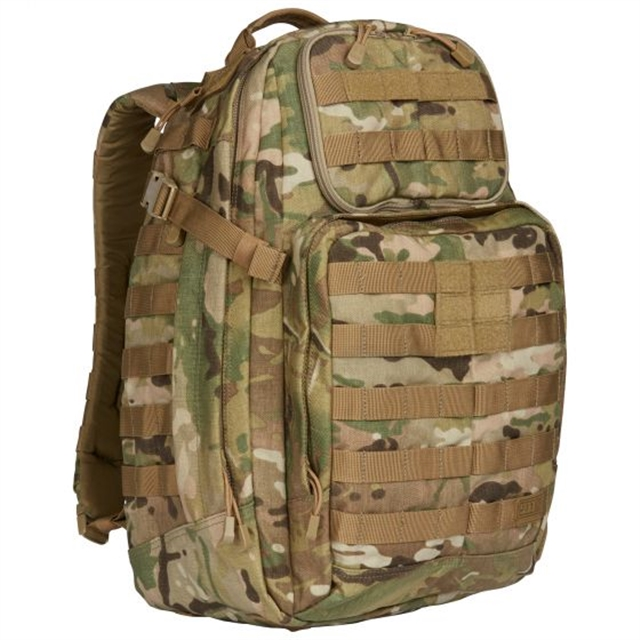 2019 5.11 Tactical RUSH24 Backpack 37L Multicam at Harsh Outdoors, Eaton, CO 80615