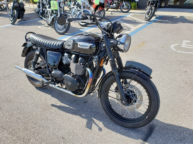 2014 Triumph Bonneville T100 at Fort Lauderdale