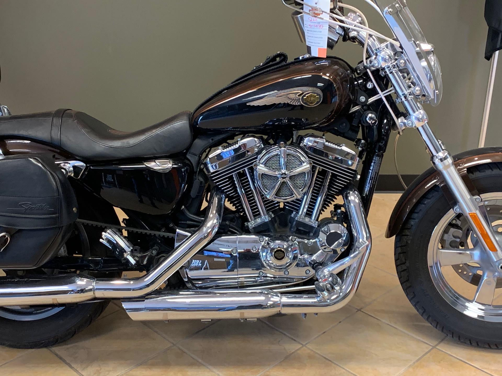 2013 Harley-Davidson Sportster 1200 Custom 110th Anniversary Edition at Loess Hills Harley-Davidson