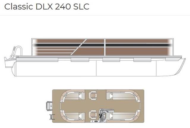 2022 Crest Classic DLX 240 SLC at Fort Fremont Marine