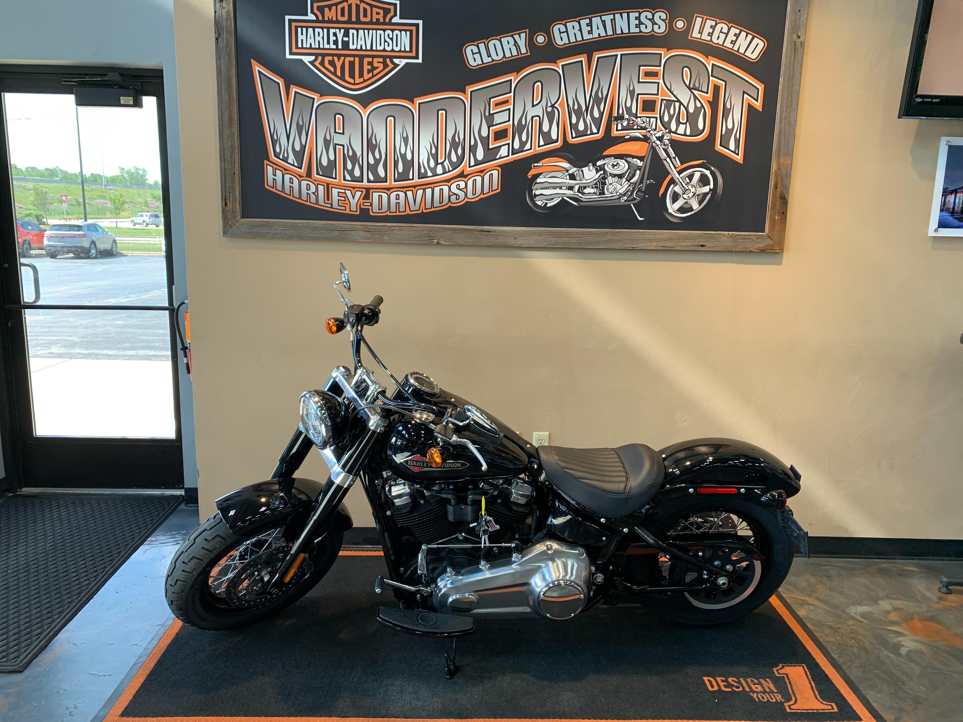 2021 Harley-Davidson Cruiser Softail Slim at Vandervest Harley-Davidson, Green Bay, WI 54303