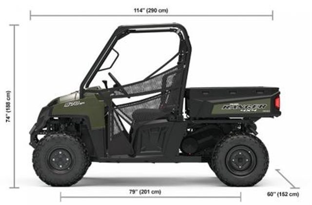 2019 Polaris Ranger 570 Full-Size at Pete's Cycle Co., Severna Park, MD 21146