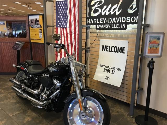 2021 Harley-Davidson Cruiser Fat Boy 114 at Bud's Harley-Davidson