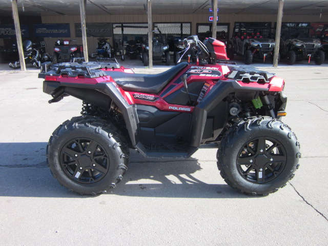 2018 Polaris Sportsman 850 SP Sunset Red at Fort Fremont Marine, Fremont, WI 54940