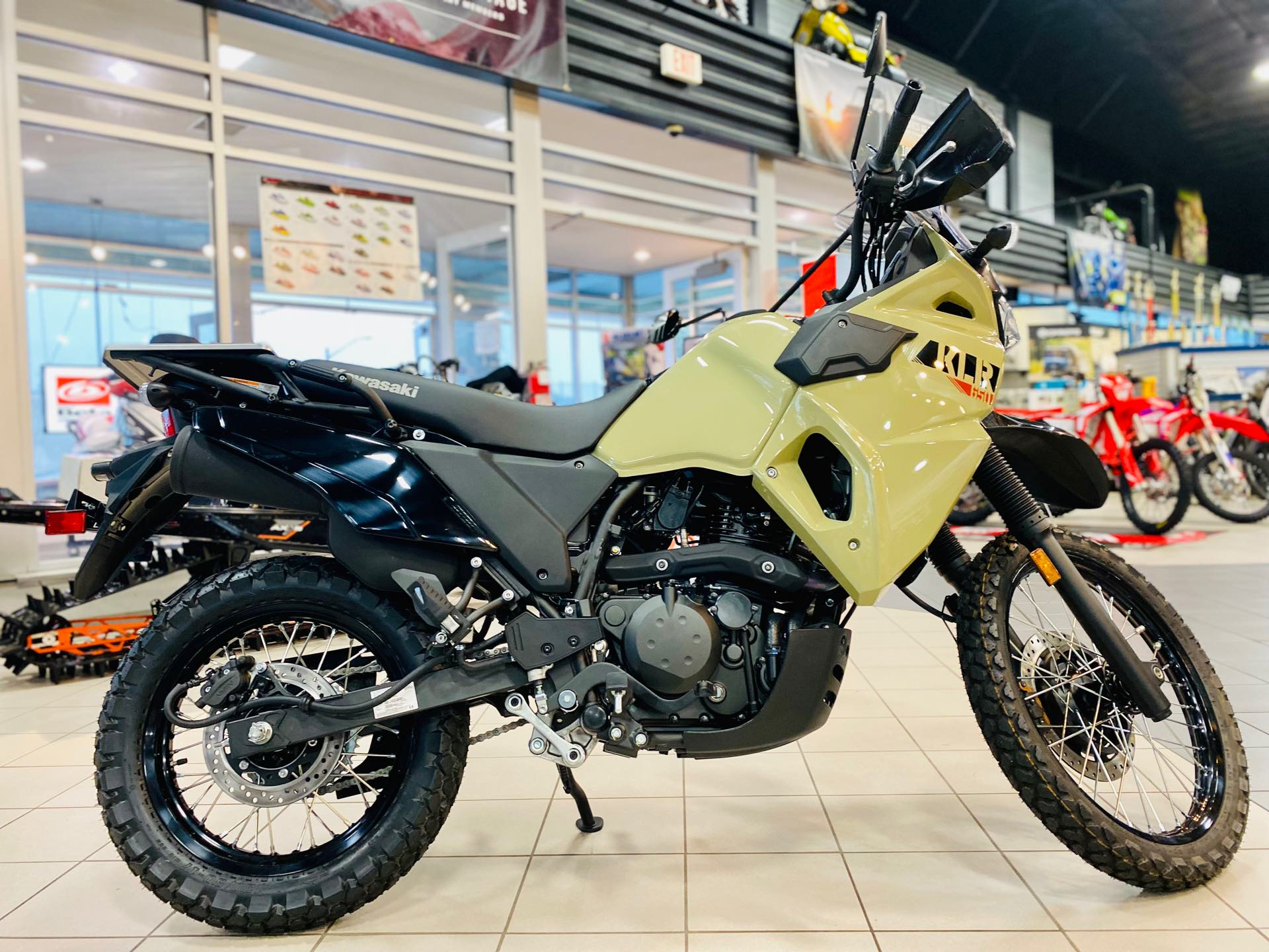 2022 Kawasaki KLR 650 ABS at Rod's Ride On Powersports