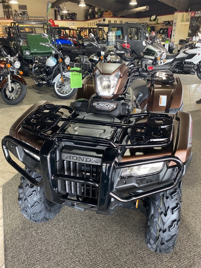 2021 Honda FourTrax Foreman Rubicon 4x4 Automatic DCT EPS Deluxe at Dale's Fun Center, Victoria, TX 77904