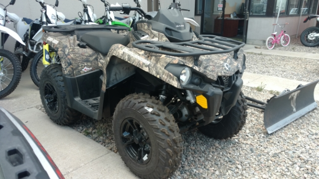 2018 Can-Am Outlander  450 DPS  Mossy Oak Camo $137/Month at Power World Sports, Granby, CO 80446