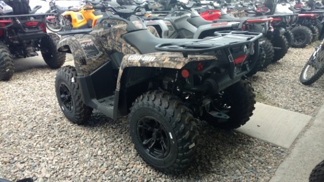2018 Can-Am Outlander  450 DPS  Mossy Oak Camo 450 DPS at Power World Sports, Granby, CO 80446