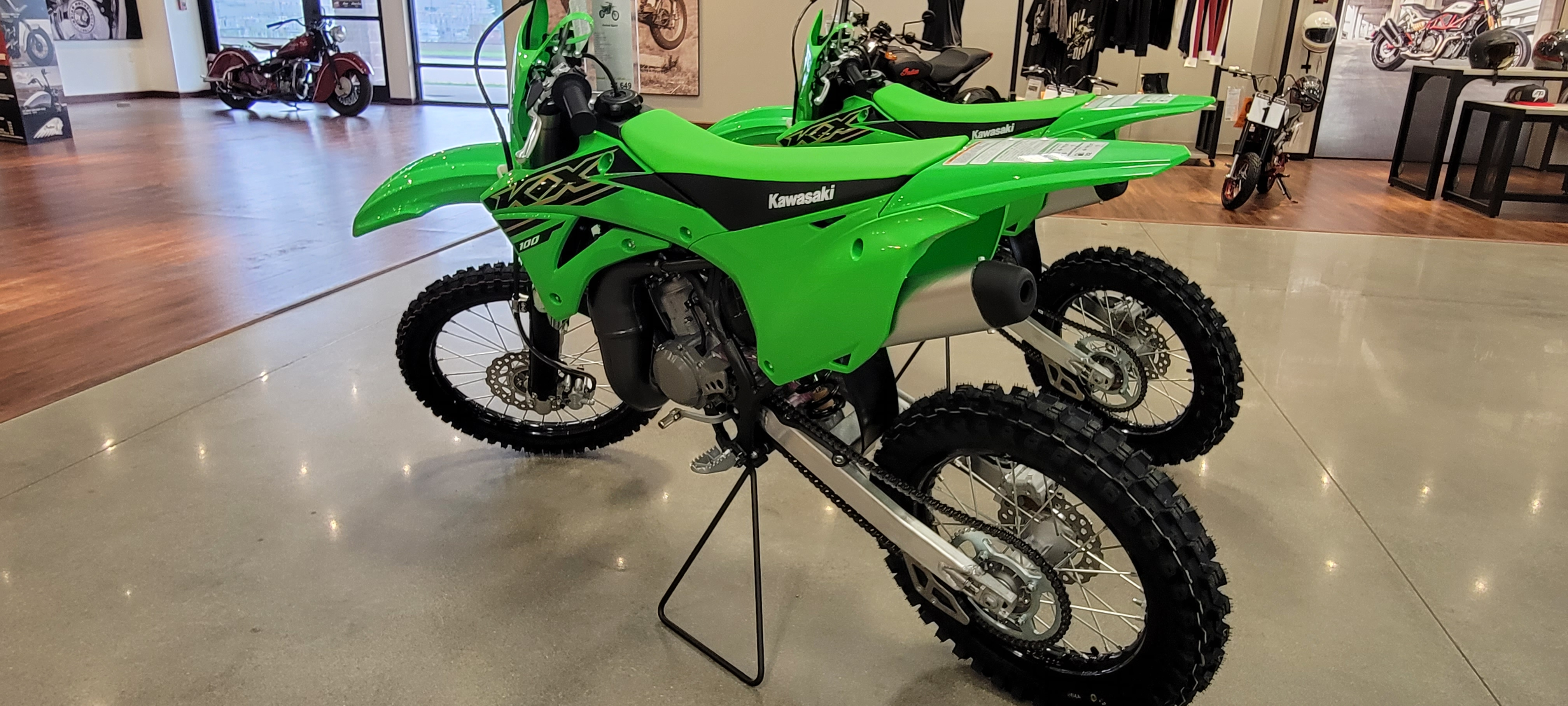 2021 Kawasaki KX 100 at Brenny's Motorcycle Clinic, Bettendorf, IA 52722