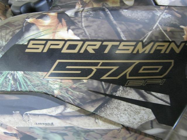 2020 Polaris Sportsman 570 EPS Polaris Pursuit Camo at Brenny's Motorcycle Clinic, Bettendorf, IA 52722