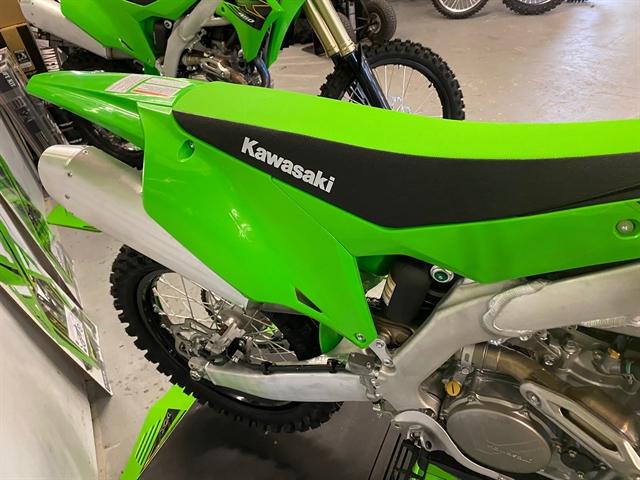 2021 KAWASAKI KX450JMFNN KX450 at Shreveport Cycles