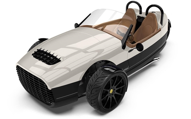 2021 Vanderhall CARMEL GT IVORY WHITE CARMEL GT at Youngblood RV & Powersports Springfield Missouri - Ozark MO