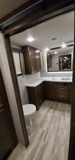 2020 Grand Design Solitude 380FL at Youngblood Powersports RV Sales and Service