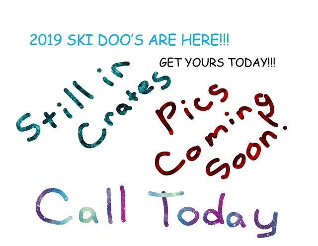 2019 Ski-Doo SUMMIT 850 154 2.5-E $218/month at Power World Sports, Granby, CO 80446
