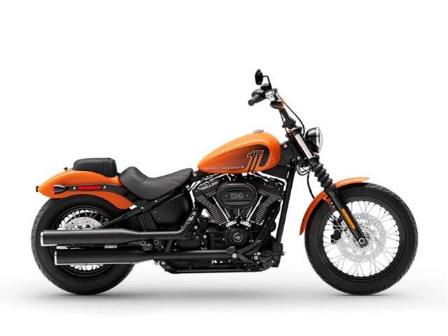 2021 Harley-Davidson Cruiser FXBBS Street Bob 114 at Gasoline Alley Harley-Davidson (Red Deer)