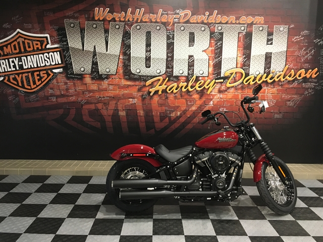 2020 Harley-Davidson Softail Street Bob at Worth Harley-Davidson