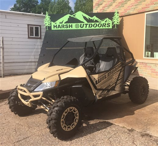 2016 Arctic Cat Wildcat X Special Edition at Harsh Outdoors, Eaton, CO 80615