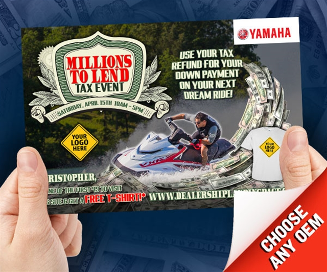 2018 ANYTIME Millions to Lend Powersports at PSM Marketing - Peachtree City, GA 30269