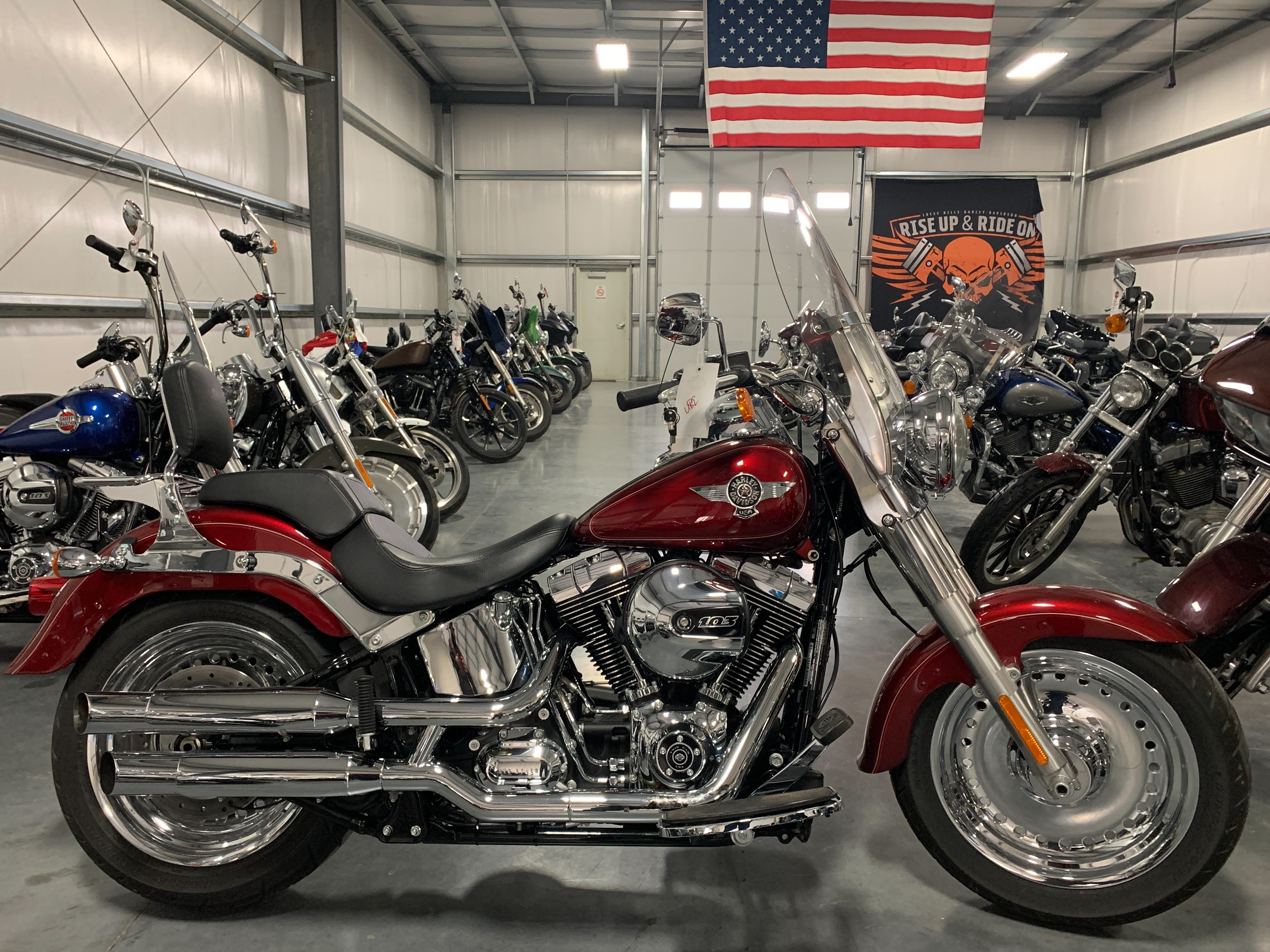 2016 Harley-Davidson Softail Fat Boy at Loess Hills Harley-Davidson