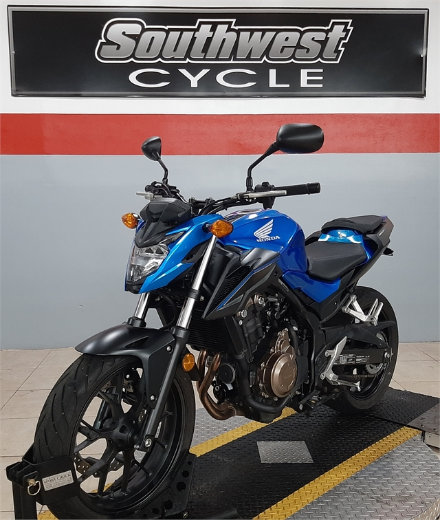 2018 Honda CB500F Base at Southwest Cycle, Cape Coral, FL 33909