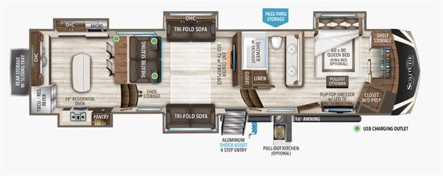 2021 Grand Design Solitude 390RK at Youngblood RV & Powersports Springfield Missouri - Ozark MO