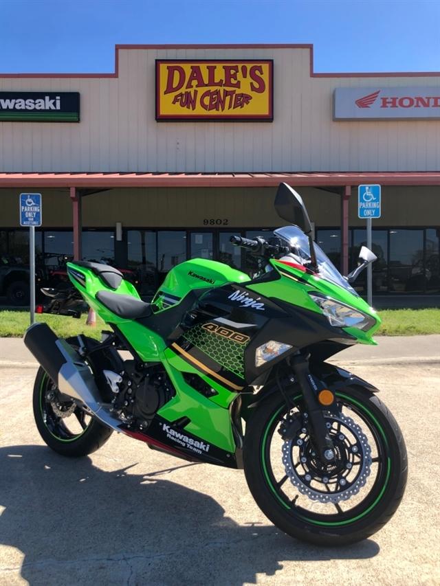 2020 Kawasaki Ninja 400 ABS KRT Edition at Dale's Fun Center, Victoria, TX 77904