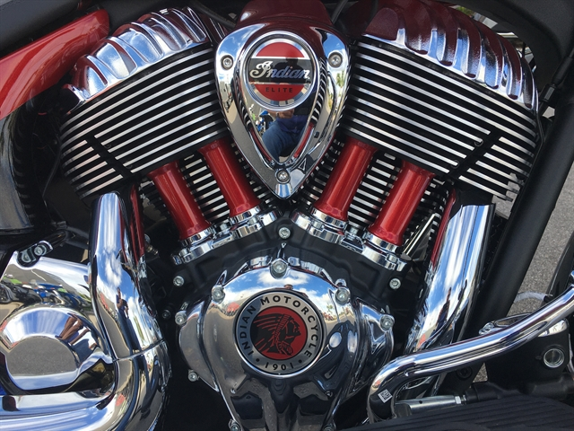 2020 Indian Chieftain Elite at Fort Lauderdale