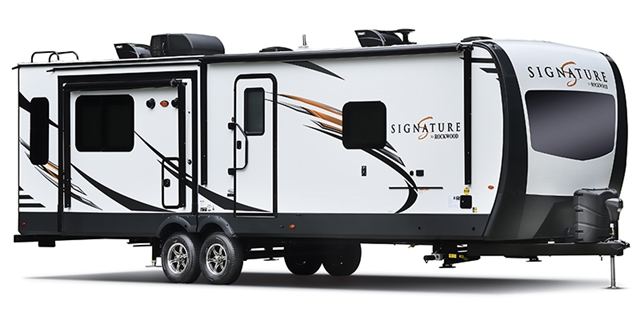 2019 Forest River Rockwood Signature Ultra Lite 8332BS Rear Kitchen at Campers RV Center, Shreveport, LA 71129