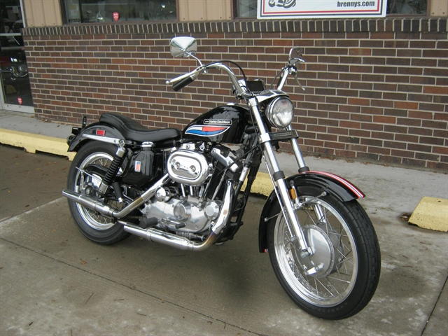 1972 Harley-Davidson XLH 1000 Sportster at Brenny's Motorcycle Clinic, Bettendorf, IA 52722