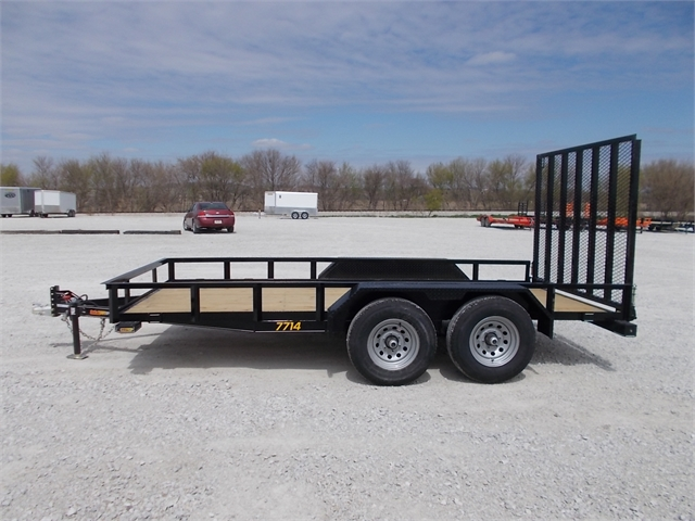 2021 Doolittle Trailers RALLY SPORT Rally Sport 770 Series 7K Tandem Axle at Nishna Valley Cycle, Atlantic, IA 50022