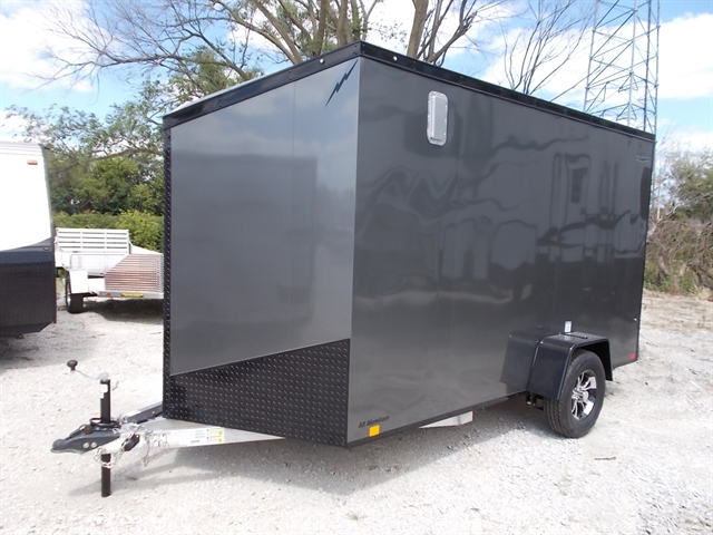 2020 Lightning Trailers 7' Wide Flat Top LTF712SA at Nishna Valley Cycle, Atlantic, IA 50022
