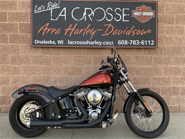 2013 Harley-Davidson Softail Blackline at Great River Harley-Davidson