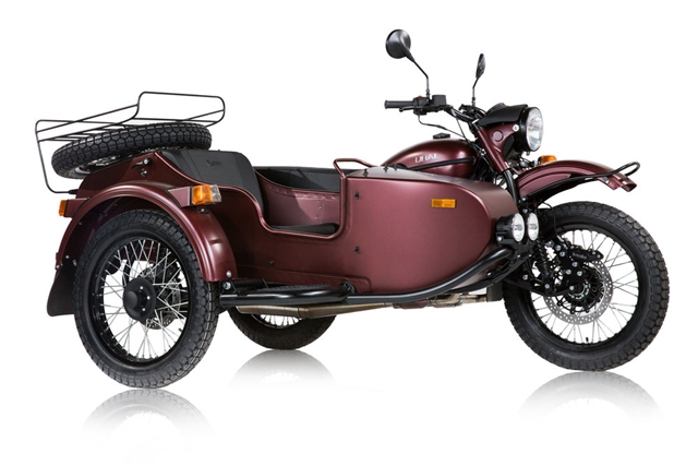 2019 URAL GEAR UP BURGUNDY SATIN at Randy's Cycle, Marengo, IL 60152