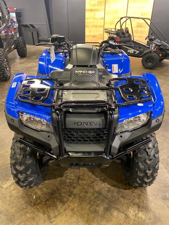 2021 Honda FourTrax Rancher 4X4 Automatic DCT IRS EPS at Sloans Motorcycle ATV, Murfreesboro, TN, 37129