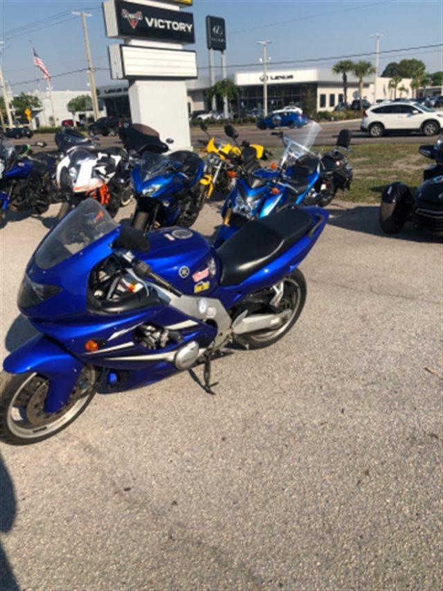 2007 Yamaha YZF 600R at Jacksonville Powersports, Jacksonville, FL 32225