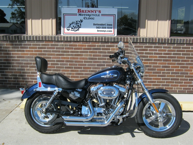 2014 Harley-Davidson XL1200C - Sportster 1200 Custom at Brenny's Motorcycle Clinic, Bettendorf, IA 52722