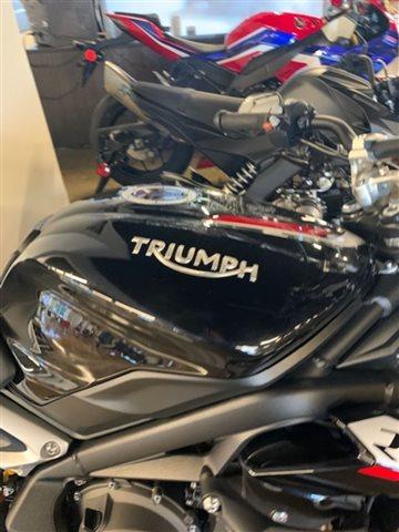 2018 Triumph Street Triple RS Phantom Black RS at Powersports St. Augustine