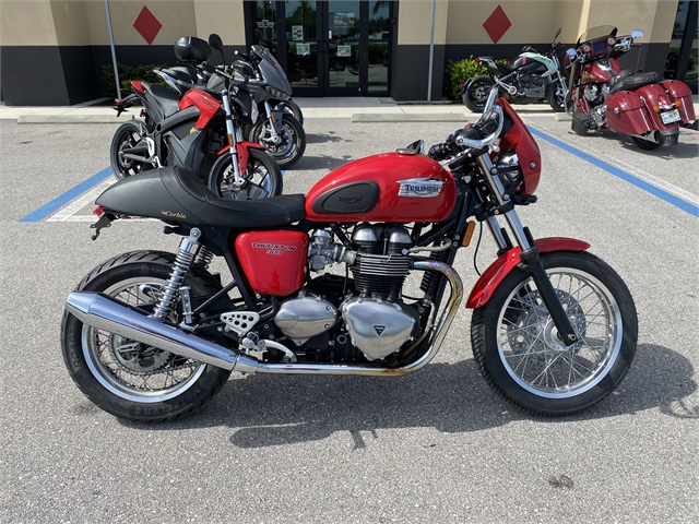 2012 Triumph Thruxton 900 at Fort Myers