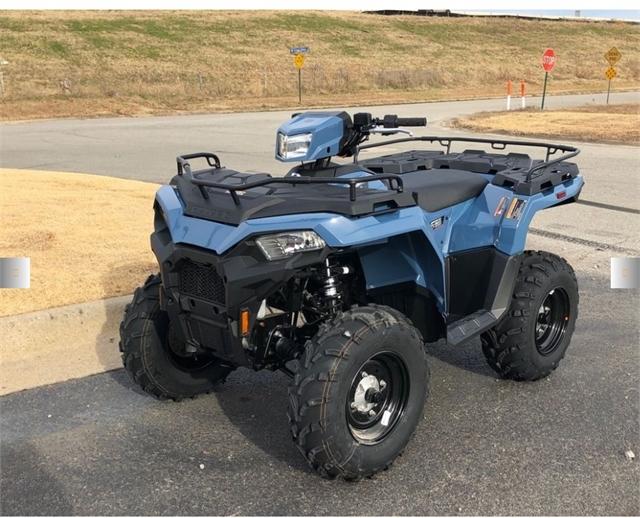 2021 Polaris Sportsman 450 H.O. EPS at Shawnee Honda Polaris Kawasaki