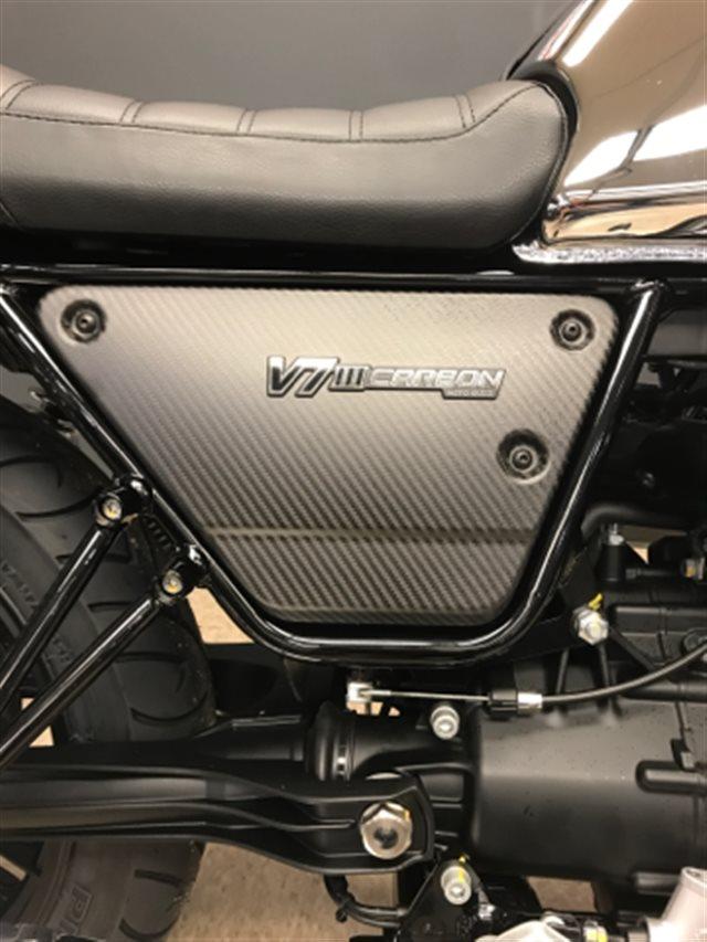 2018 Moto Guzzi V7 III Carbon Shine at Sloan's Motorcycle, Murfreesboro, TN, 37129