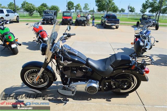 2015 Harley-Davidson Softail Fat Boy Lo at Shawnee Honda Polaris Kawasaki