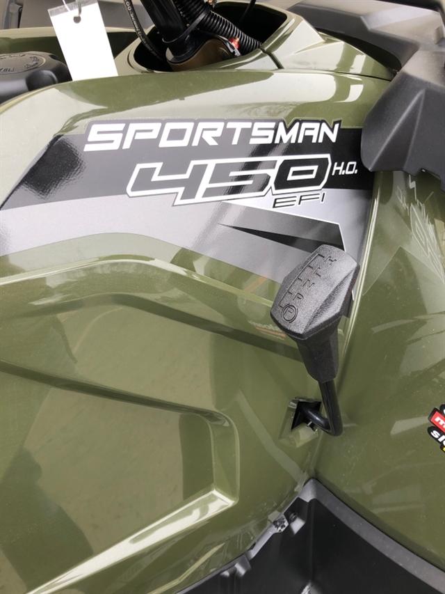 2020 Polaris Sportsman 450 H.O. Base at Sloans Motorcycle ATV, Murfreesboro, TN, 37129