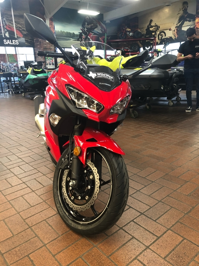 2021 Kawasaki Ninja 400 Base at Wild West Motoplex