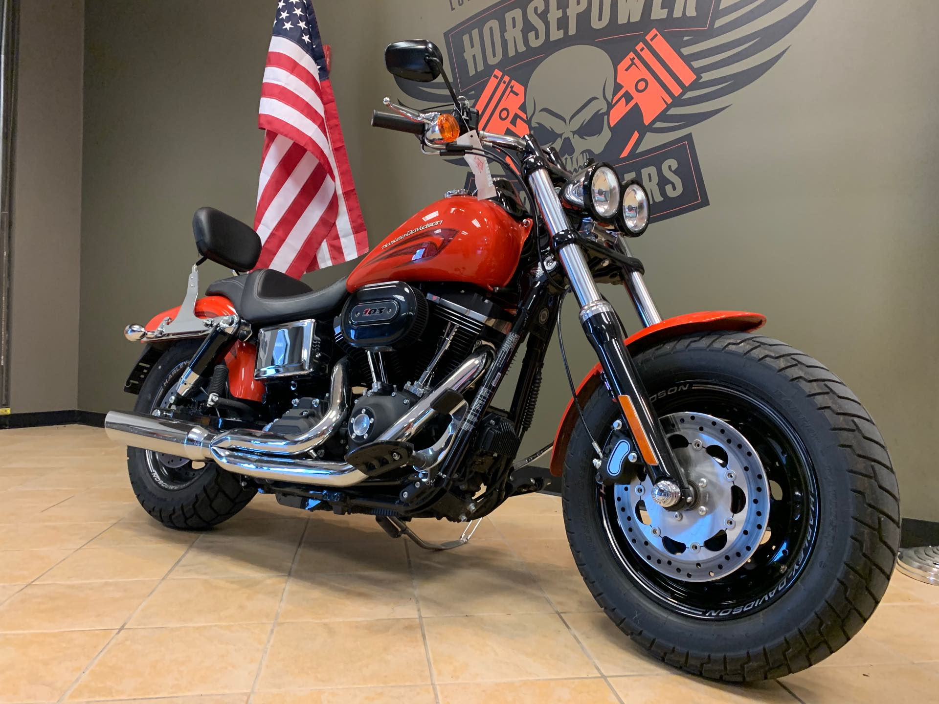2017 Harley-Davidson Dyna Fat Bob at Loess Hills Harley-Davidson