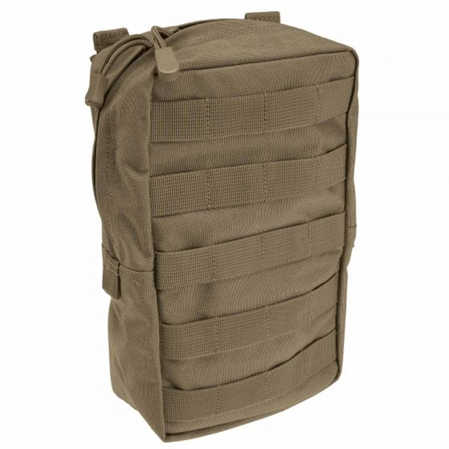 2019 5.11 Tactical 6 x 10 Vertical Pouch Sandstone at Harsh Outdoors, Eaton, CO 80615