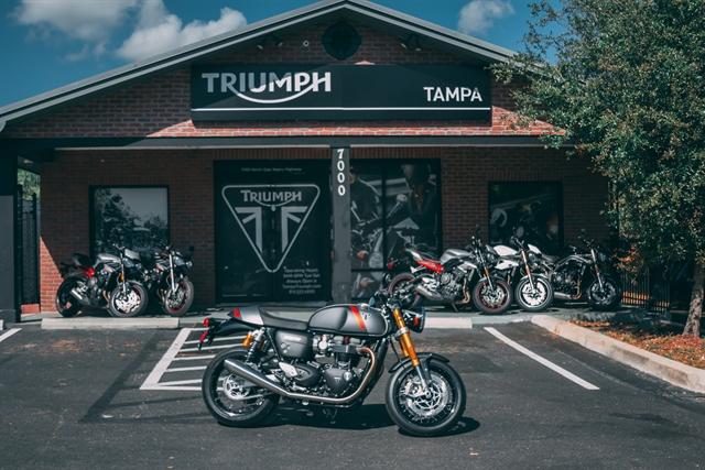 2020 TRIUMPH THRUXTON RS THRUXTON RS at Tampa Triumph, Tampa, FL 33614