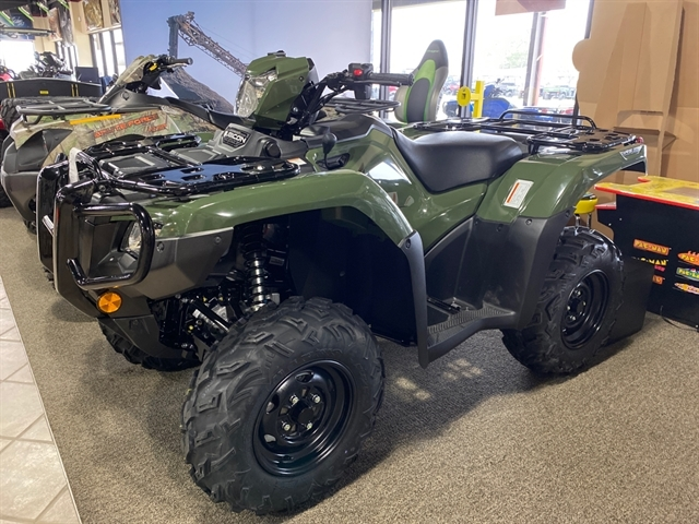 2020 Honda FourTrax Foreman Rubicon 4x4 Automatic DCT EPS at Dale's Fun Center, Victoria, TX 77904