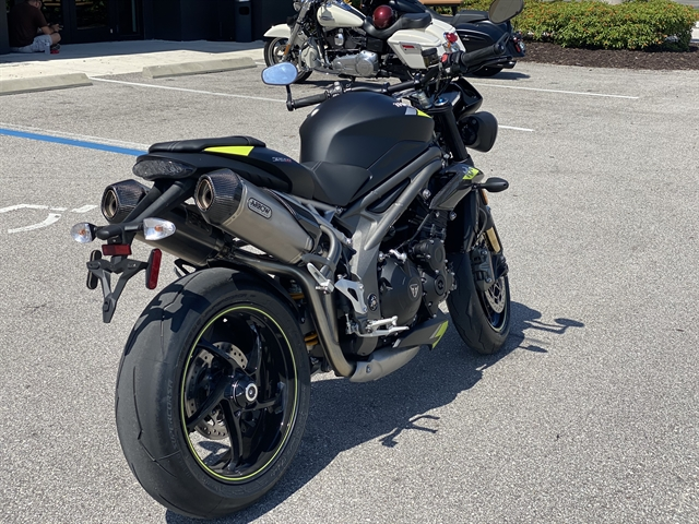 2020 Triumph Speed Triple RS at Fort Myers