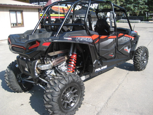2019 Polaris RZR 4- 1000 XP EPS Black Pearl at Fort Fremont Marine