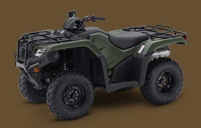 2020 Honda FourTrax Rancher 4X4 at Dale's Fun Center, Victoria, TX 77904